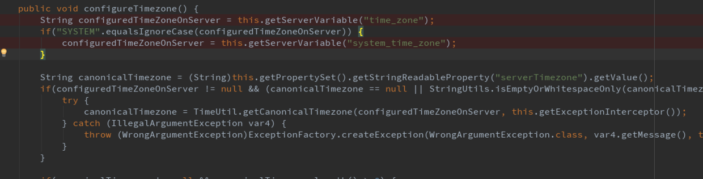 configureTimezone